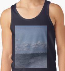 Abstract of Mackinac Island Ferry Ride Men's Tank Top