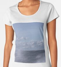 Abstract of Mackinac Island Ferry Ride Women's Premium T-Shirt