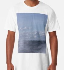 Abstract of Mackinac Island Ferry Ride Long T-Shirt