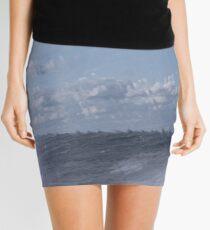 Abstract of Mackinac Island Ferry Ride Mini Skirt