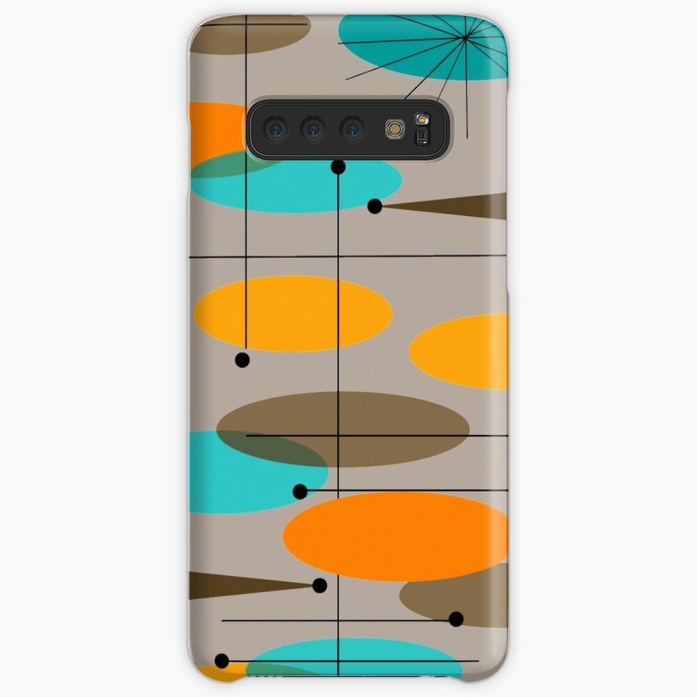 Mid-Century Modern Ovals III Case & Skin for Samsung Galaxy