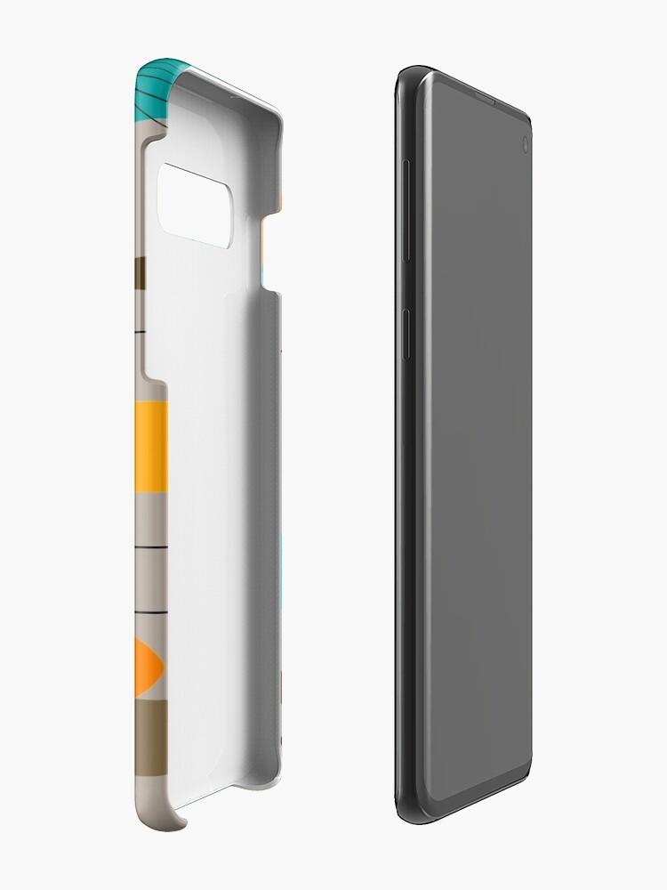 Alternate view of Mid-Century Modern Ovals III Case & Skin for Samsung Galaxy