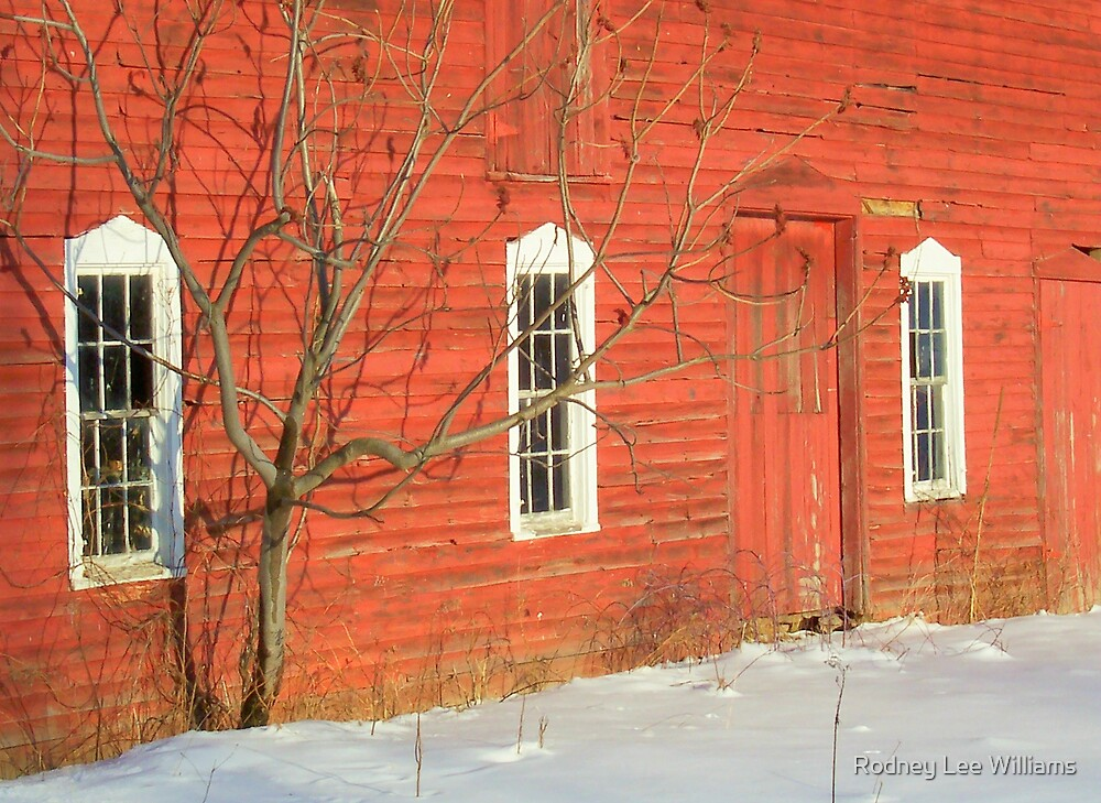 Barnwall in Winter by Rodney Lee Williams
