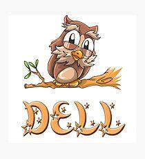 Dell Owl Photographic Print