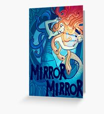 Mirror Mirror Greeting Card