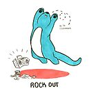 Rock Out: Life Tips From An Optimistic Otter by Nicole Horsman