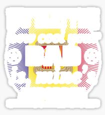 no matter cool dad vater gift Andorra Sticker