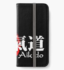 Aikido 2 for dark background iPhone Wallet/Case/Skin