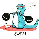 Sweat: Life Tips From An Optimistic Otter by Nicole Horsman
