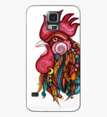 Tribal Rooster Design Case/Skin for Samsung Galaxy
