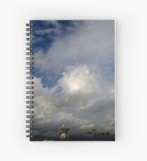 Radio Telescope Spiral Notebook