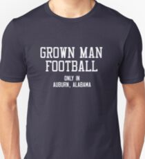 Grown Man Football Auburn 3 Slim Fit T-Shirt
