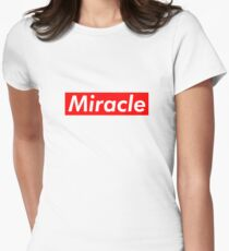Miracle Supreme Box Logo Women's Fitted T-Shirt