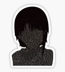 Lainちゃん - [Black Ver.] Sticker