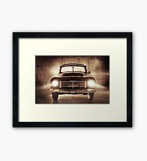 Mystery Car Framed Print