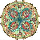 Jud's Mandala by WendyNeilsonArt