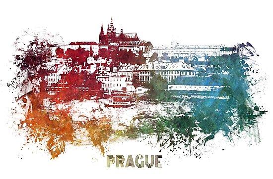 Prague skyline  by JBJart