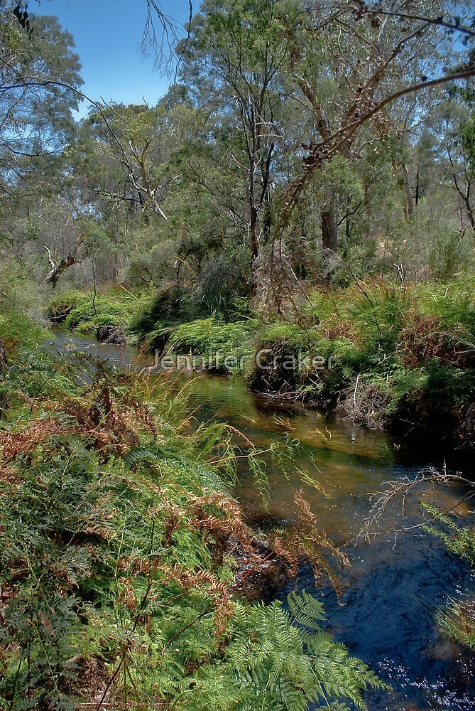 Mackenzie Creek at Zumpstien's V02 - Grampians National Park by Jennifer Craker