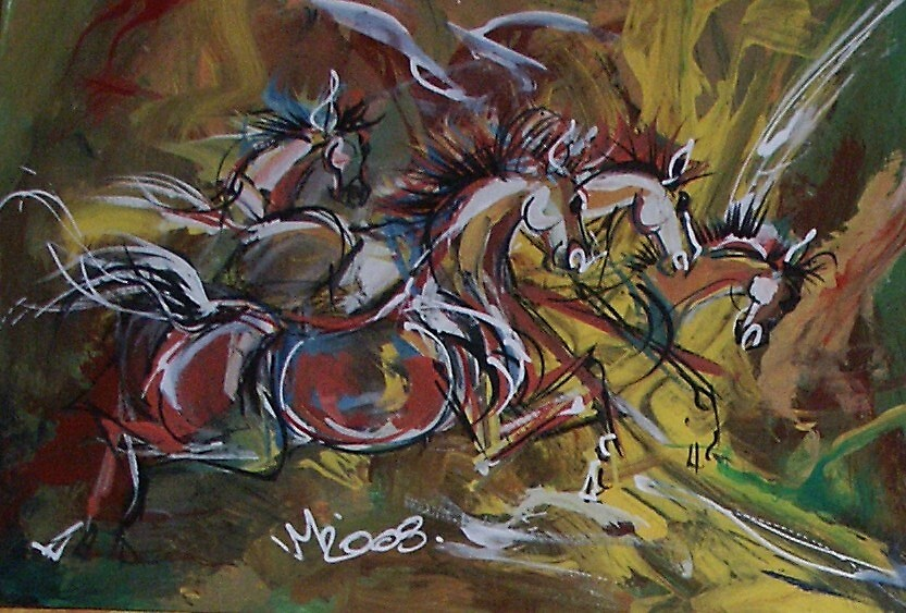horses in moving 01 by mvas