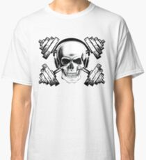 Weightlifting Is Life Skull Classic T-Shirt