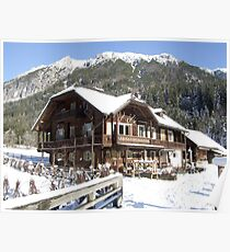 Restaurant at the Jaegersee Poster
