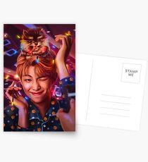 RM & Yeontan Postkarten