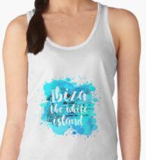 Ibiza the white island Women's Tank Top