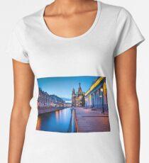 Saint Petersburg at Night Women's Premium T-Shirt