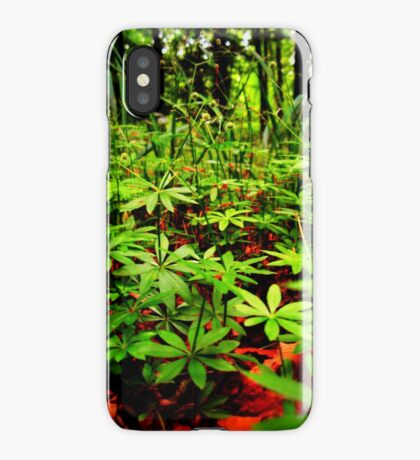 Natural flooring iPhone Case