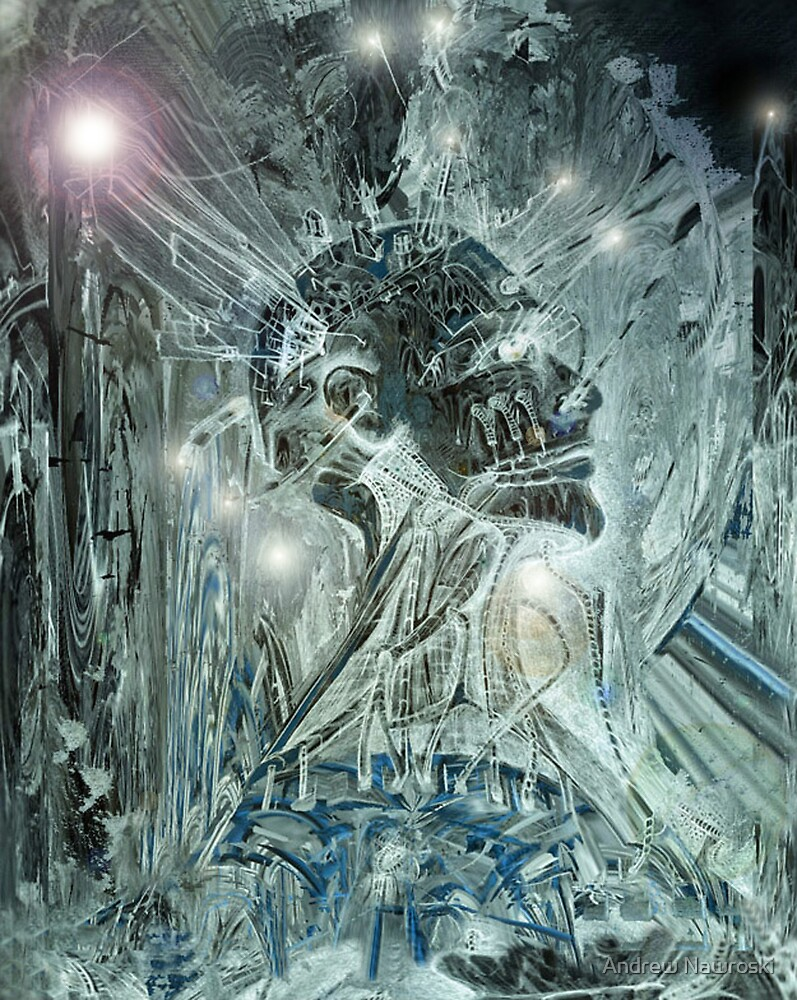 Digital Man. by Andrew Nawroski