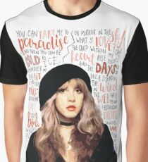 Stevie Nicks Graphic T-Shirt
