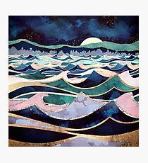 Moonlit Ocean Photographic Print