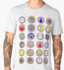 Runes --- Runescape Men's Premium T-Shirt