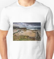 Staithes from the East cliff Unisex T-Shirt
