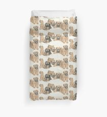 Soft-coated Wheaten Terrier Puppies Duvet Cover