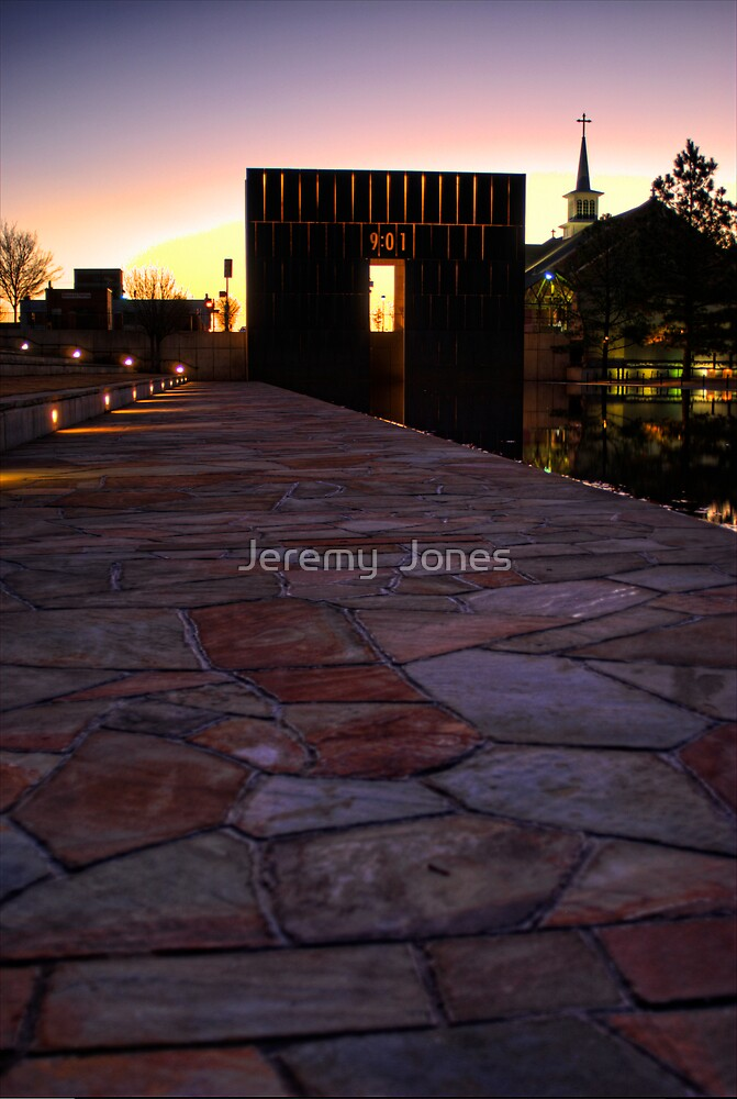Memorial Pathway by Jeremy  Jones