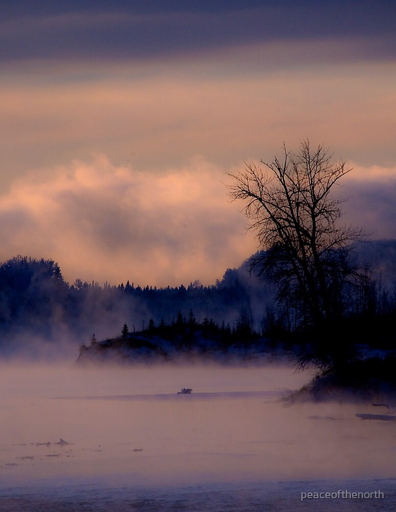 River of Mist #3 by peaceofthenorth