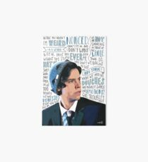 Cole Sprouse Art Board