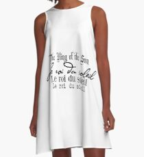 The King of the Sun by hyndussidart.com A-Line Dress