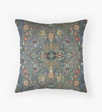 William Morris wallpaper design Throw Pillow