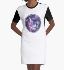 Chihuahua the Dog Star Graphic T-Shirt Dress