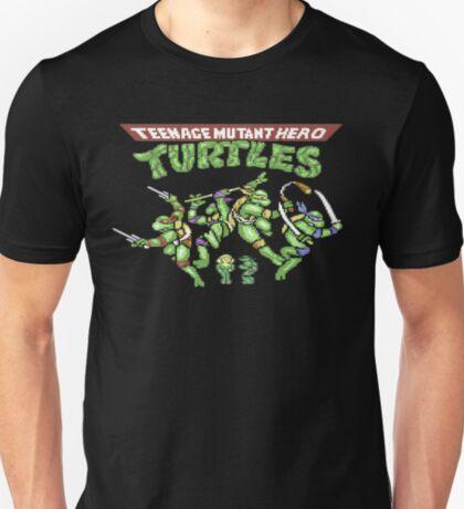 Gaming [C64] - Teenage Mutant Hero Turtles (Ninja) T-Shirt