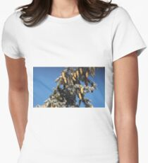 Blue Skies 001 Women's Fitted T-Shirt