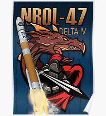 NROL-47 Poster Poster