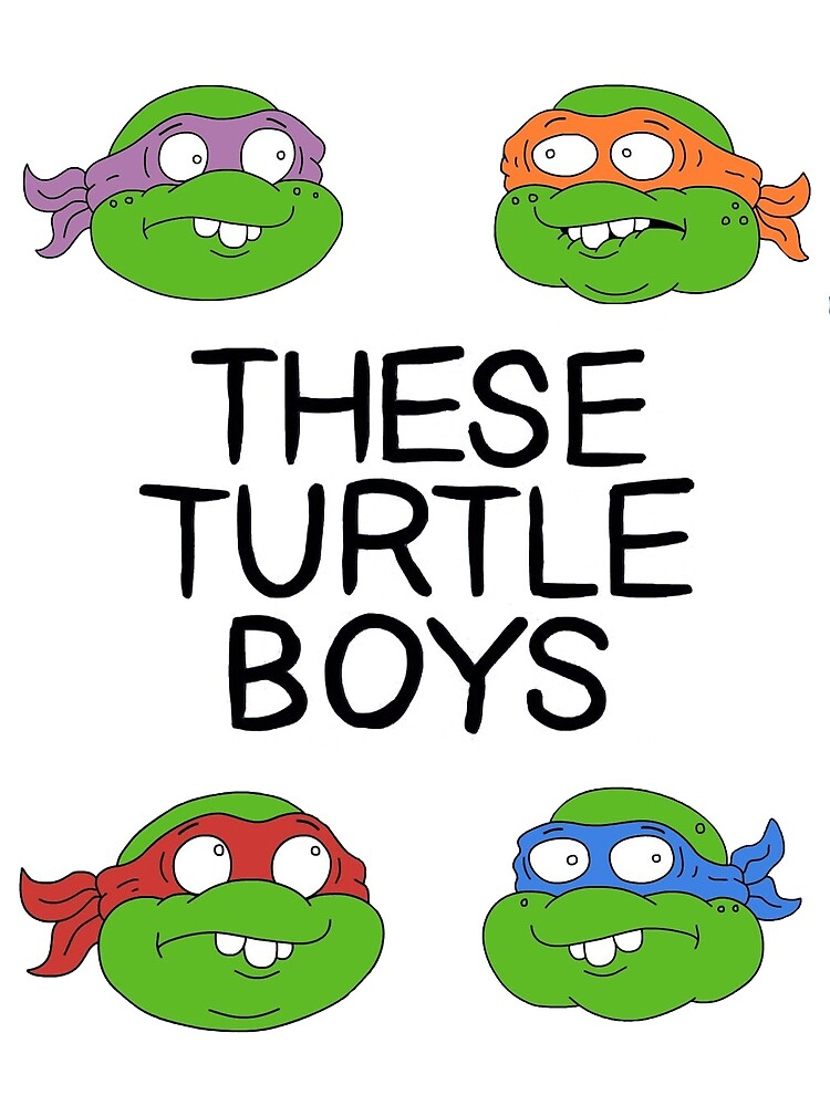 These Turtle Shirts by Soapy Lycanthrope