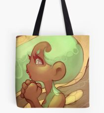 Original art: Fae Pondering Fantasy Tote Bag