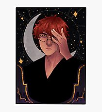 707 Tarot Card Photographic Print