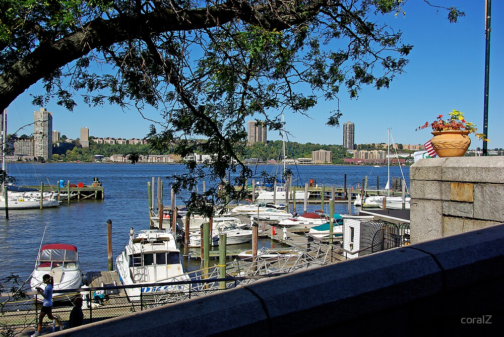 Marina at Riverside Park, Upper West Side, NY by coralZ