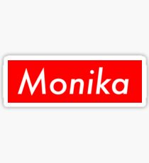 Monika - Supreme Parody Sticker