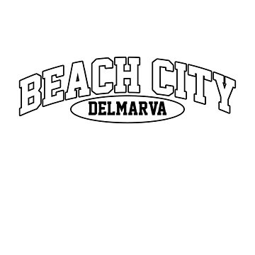 Beach City, Delmarva by 16TonPress